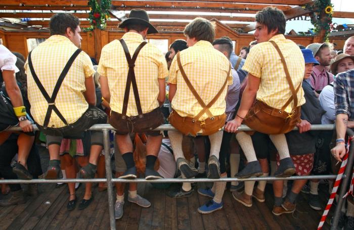 Oktoberfest München leder latzhose