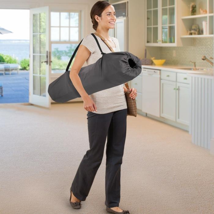 Reisebett-lila mit zum tragen