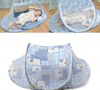 Reisebett- eine tolle Lösung, wenn Sie mit Ihrem Baby unterwegs sind