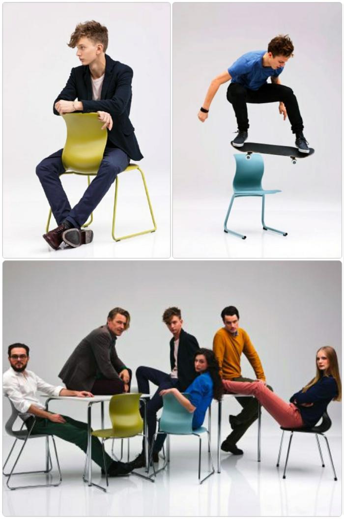Schulmöbel Stühle von Konstantin Grcic moderne stühle design