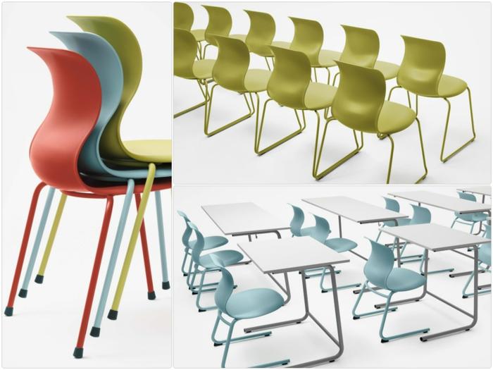 Schulmöbel moderne Stühle von Konstantin Grcic