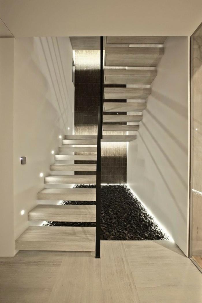 Schwebende Treppe klotz