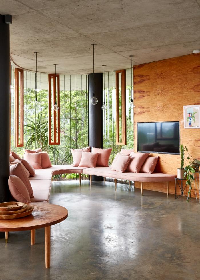 Traumhaus planchonella wohnzimmer