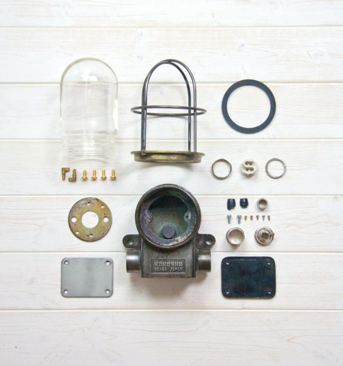 Vintage lampen Designleuchten Skinflint Design industrielampen teile
