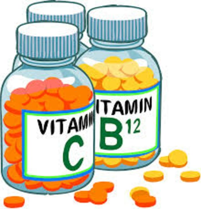 Vitamintabletten vitamin c vitamin b12