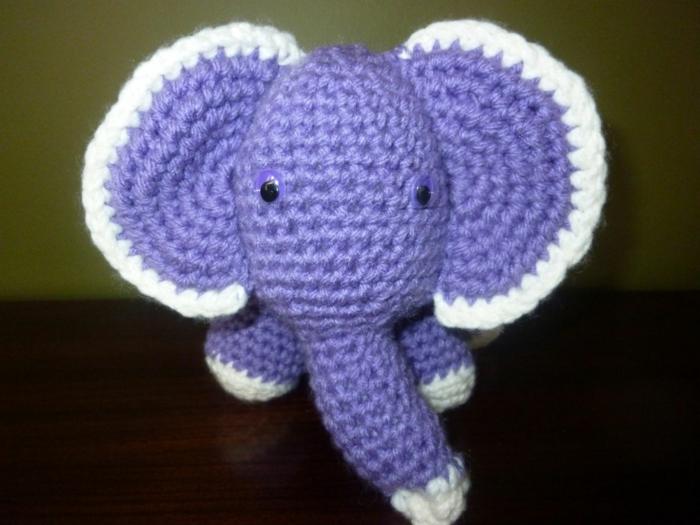 amigurumi häkeln elefanten häkeln schöne dekoideen