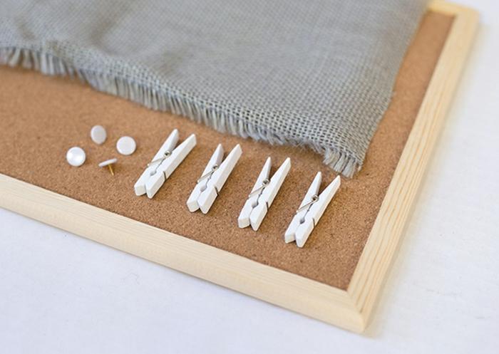 ausgefallene ideen schmuck aufbewahren pinnwand wäscheklammer