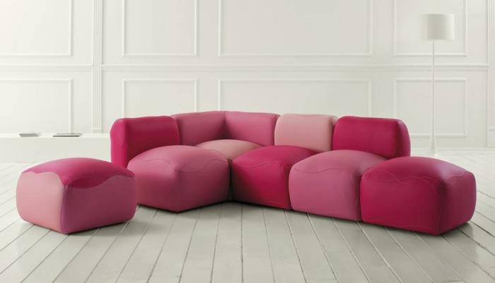 Ausgefallene sofas verleihen dem wohnzimmer eine interessante note - Ausgefallene wohnzimmermobel ...