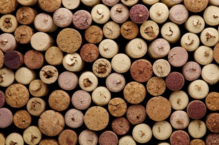 Bastelideen Korken Verbraucht Recyclen