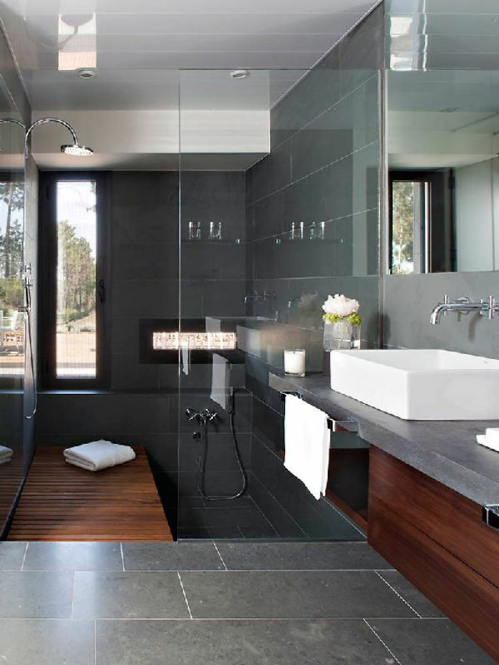 Inspiration f r ihre begehbare dusche walk in style im bad - Amazing contemporary bathroom design ideas at lovely home ...