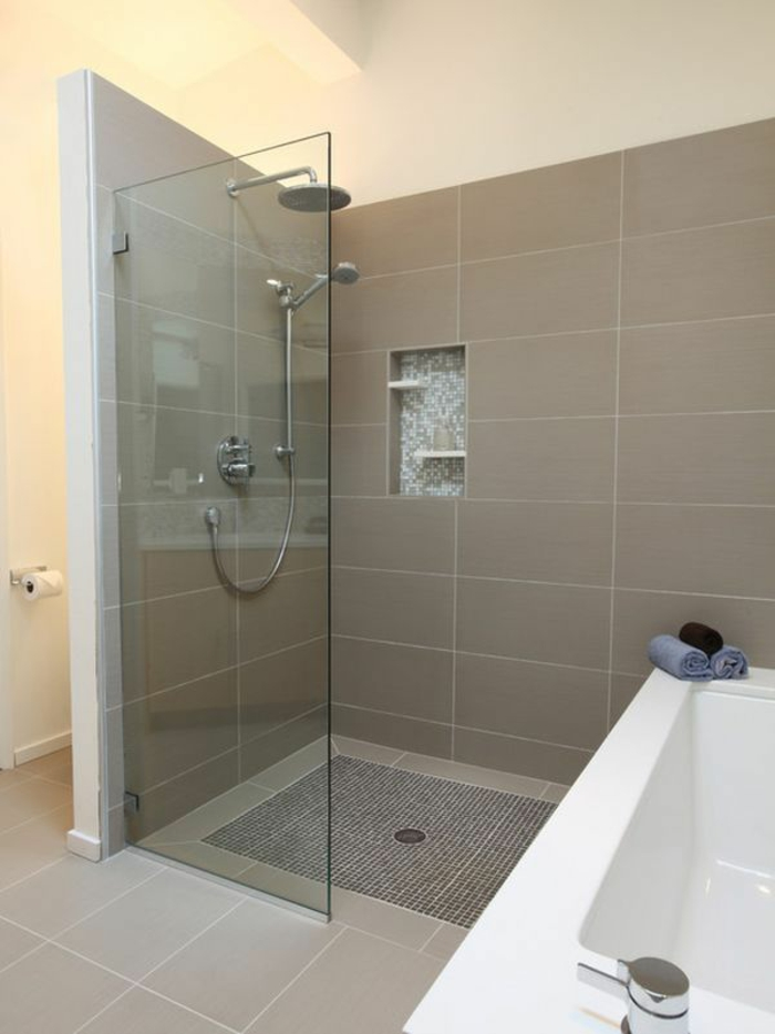 Dusche Ohne T?r Bauen : Dusche Ohne T?r Bauen : Dusche ohne T?r Verbleibende Wand muss lang