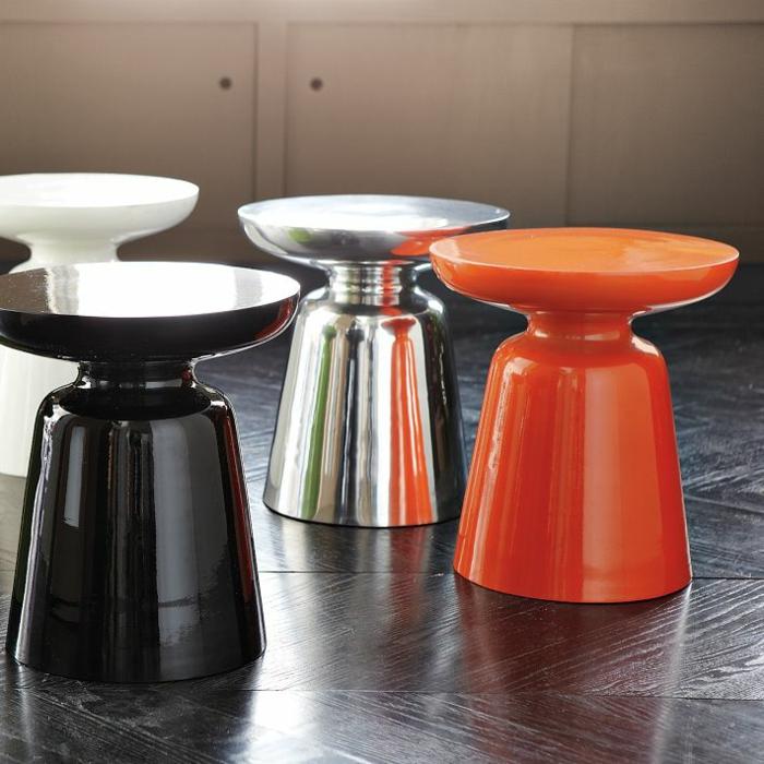 beistelltisch design martini hocker modern