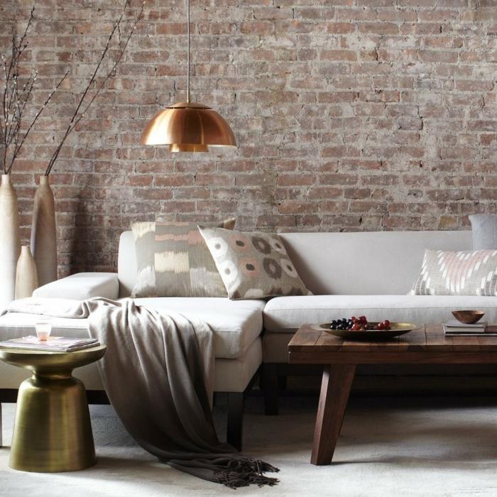 beistelltisch design martini messing wohnzimmer