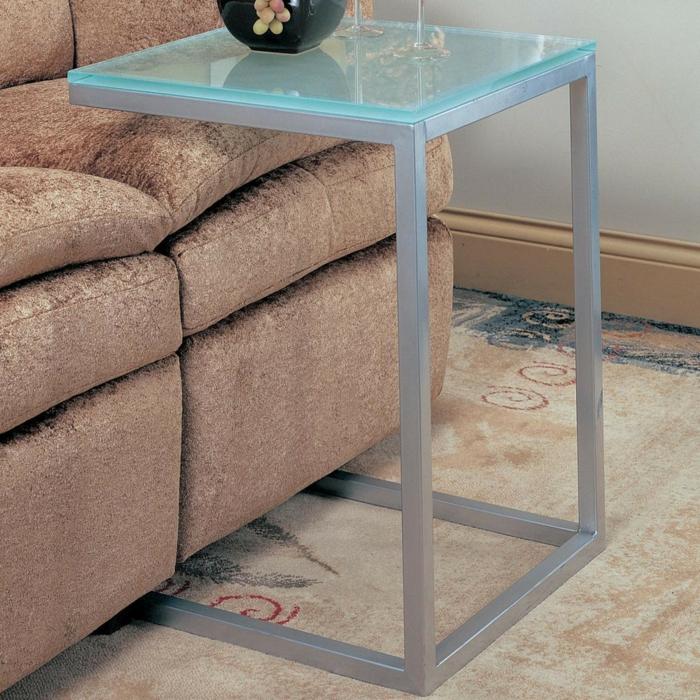 beistelltisch glas macht jedes zimmer sch ner. Black Bedroom Furniture Sets. Home Design Ideas