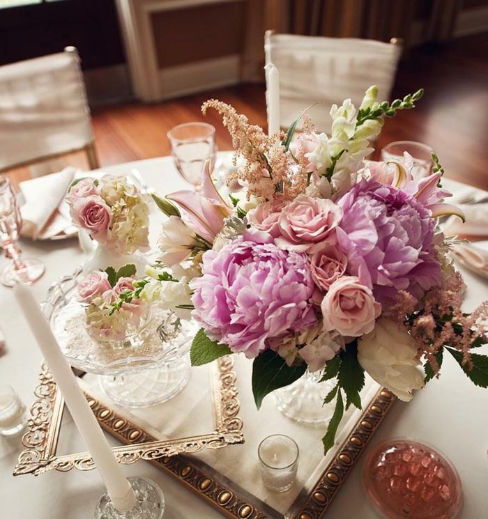 Wunderschöne und günstige Blumen Tischdeko zu Ihrer Hochzeit