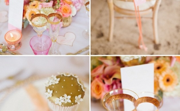 Hochzeitstisch dekorieren - originelle Tischdeko Ideen - Freshideen 1