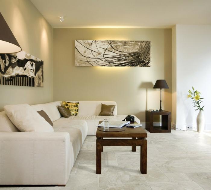Bodenfliesen Wohnzimmer - Schöne Ideen für den Wohnzimmerboden