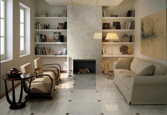 bodenfliesen wohnzimmer sch ne ideen f r den wohnzimmerboden. Black Bedroom Furniture Sets. Home Design Ideas