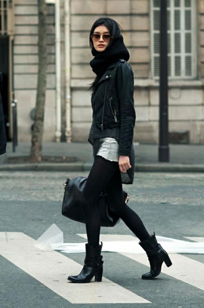 Herbst Und Winterstiefel Fur Damen In Street Style