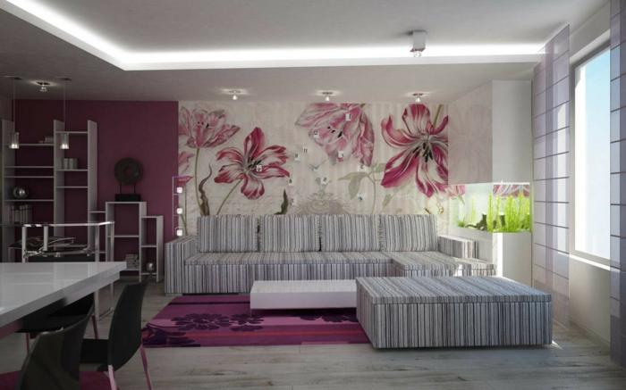 wanddekoration ideen wohnzimmer | möbelideen - Wanddekoration Wohnzimmer