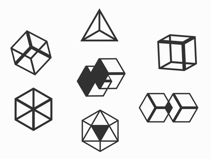 designer octavio asensio garderobenhaken design schwarz geometrisch
