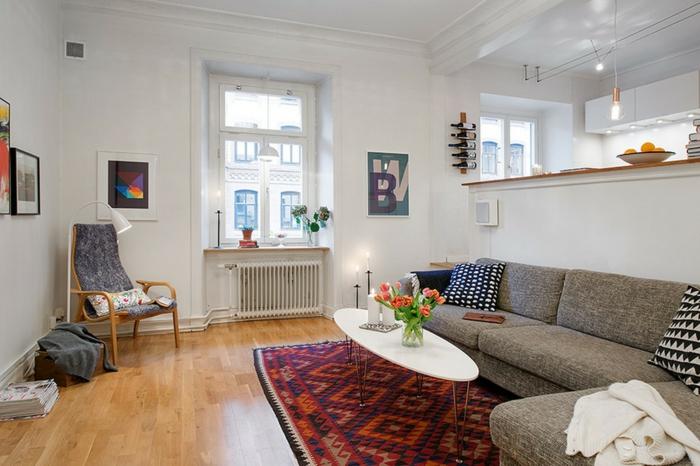 dielenboden verlegen suabermachen pflegen teppich wohnzimmer