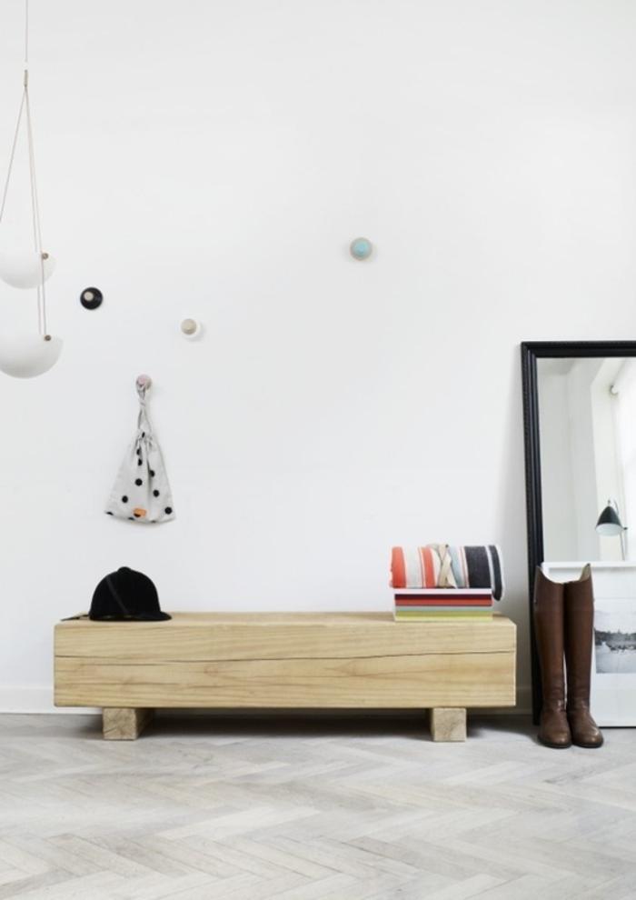 dielenmöbel massiv praktische schuhschrank massivholzmöbel