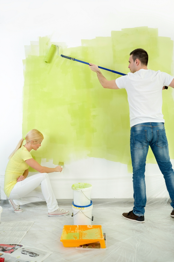 dispersionsfarbe kunstharze bindemittel lindengrüne wandfarbe
