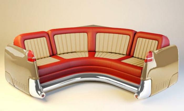 diy möbel autoteile couch leder ergonomisch