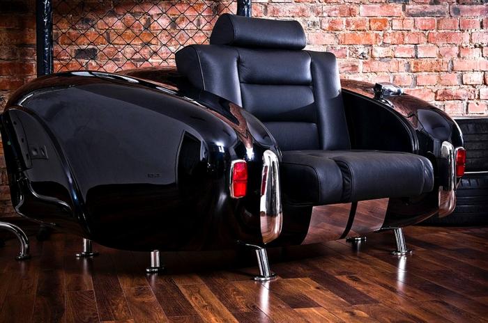 diy möbel autoteile ledercouch luxus hochglanz auto teile