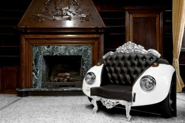 diy möbel autoteile luxus couch barock