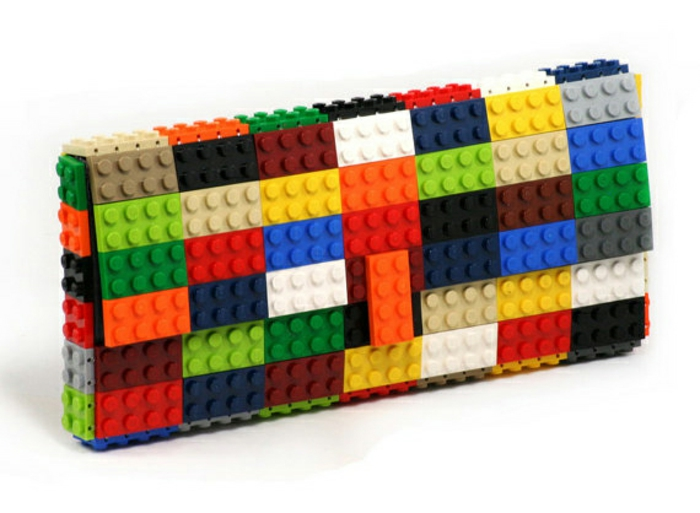 diy projekte lego steine handtasche farbkombination