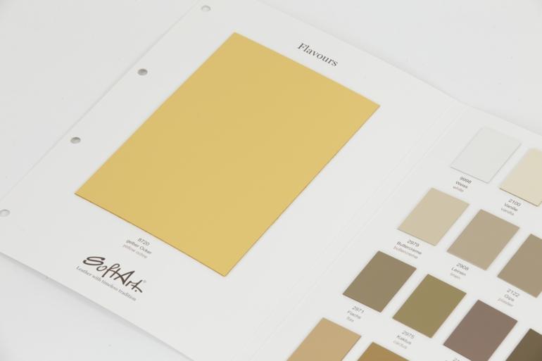echtes leder gelb farbnuancen nappalleder pflege softart leder