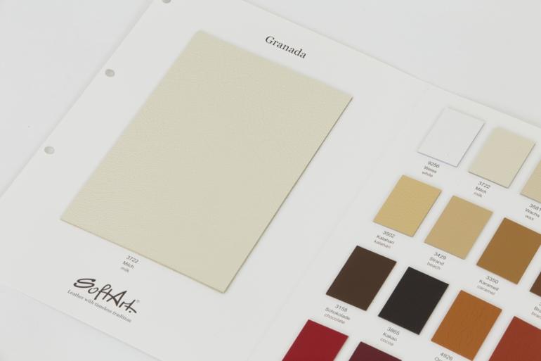 echtes leder softart nappalleder pflege weiß katalog große farbauswahl
