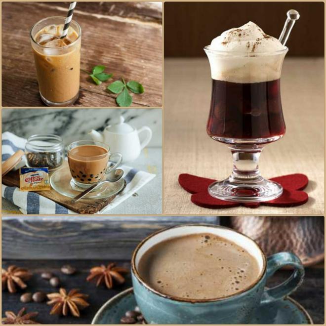 Kaffeespezialitäten eine tasse kaffee trinken weltweit kaffee mode