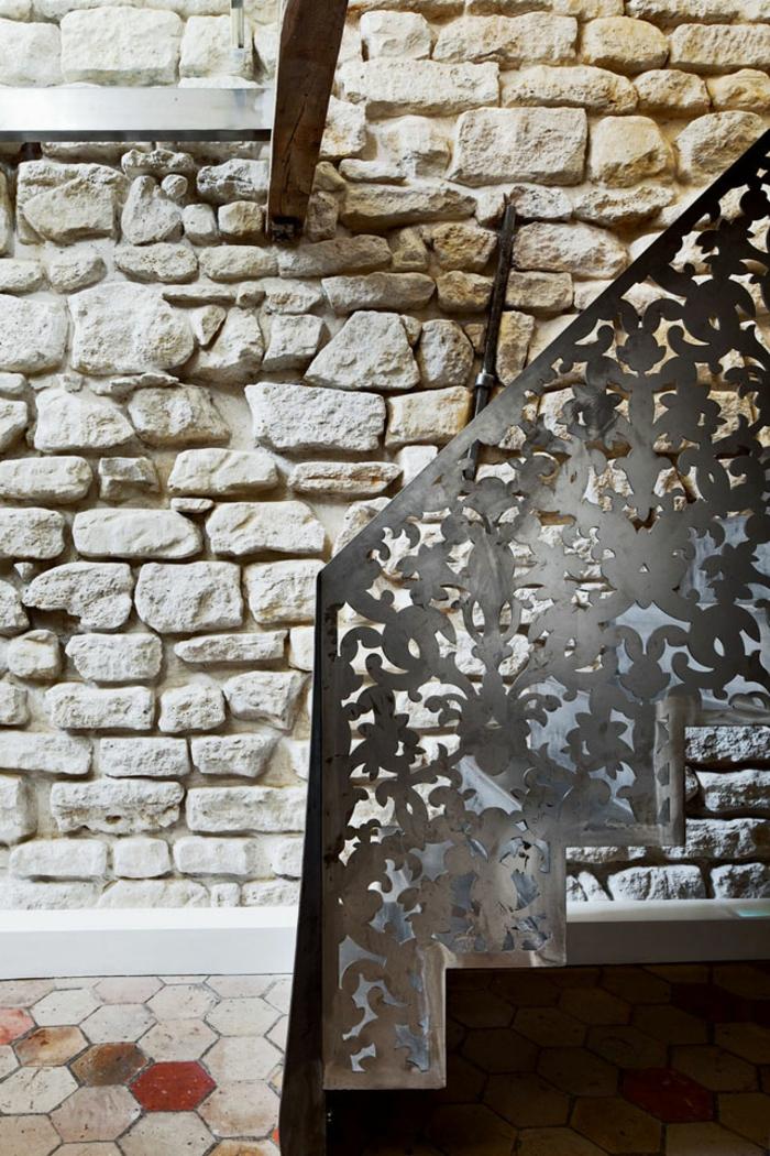 einrichtungsideen madeleine paris innentreppe treppengeländer