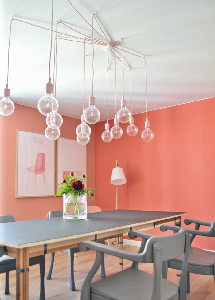 Esszimmer farbgestaltung  Sanviro.com | Wandfarbe Küche Esszimmer
