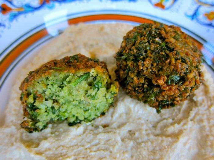 falafel rezept gesund traditionell frische kräuter