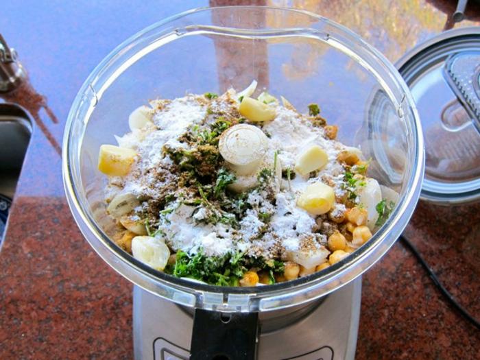 falafel rezept traditionell kichererbsen küchenmaschine
