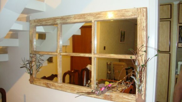 Fensterdeko pfiffige diy ideen aus alten fensterrahmen - Alte kuchenmobel neu gestalten ...