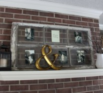 DIY Fensterdeko aus alten Fensterrahmen