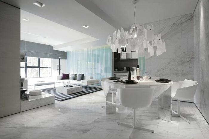 Fliesen Farbe Wohnzimmer Einrichtung Schicke Bodenfliesen