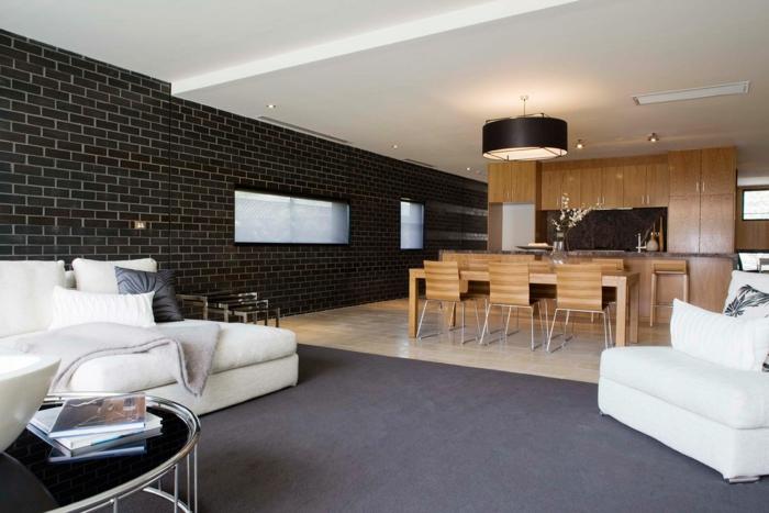 Wohnzimmer Gestalten Mit Farbe: Einrichten wohnen mit ...