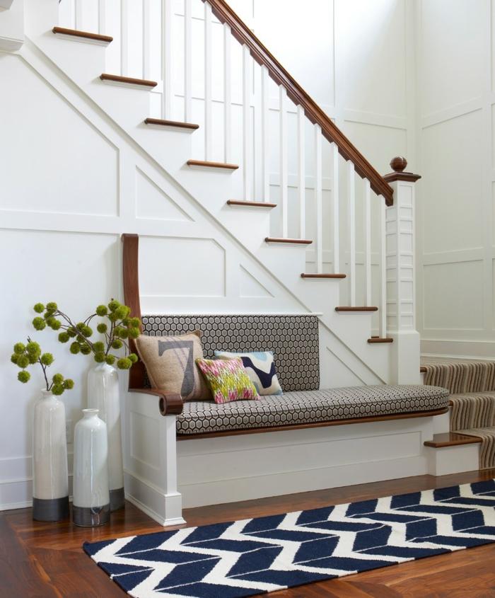 Teppiche für den flur  Wohnideen Flur - Eine einladende Diele einrichten