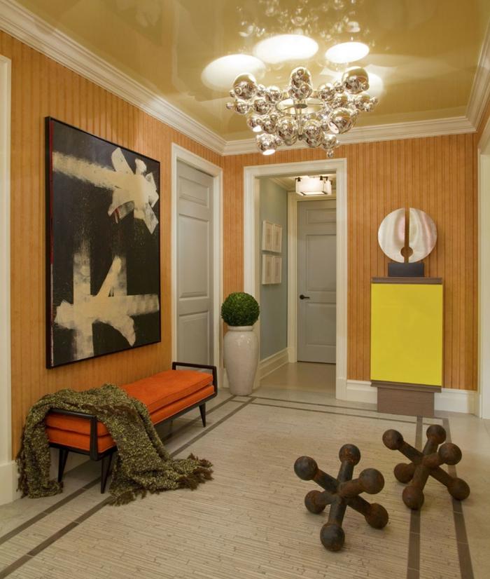 wohnideen flur eine einladende diele einrichten. Black Bedroom Furniture Sets. Home Design Ideas