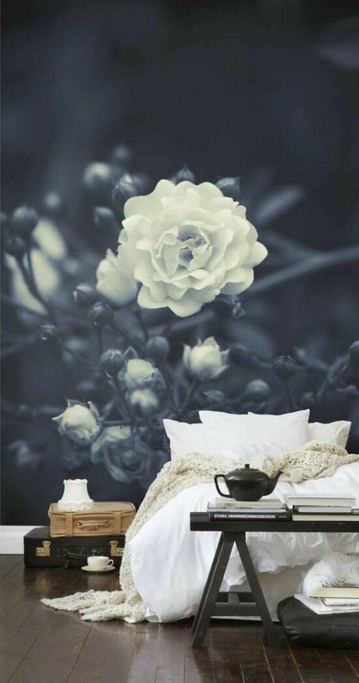 wohnzimmer wanddeko ideen:Ideen Wanddeko Mit Fototapeten Wald Wohnzimmer Natur Jpeg Pictures to