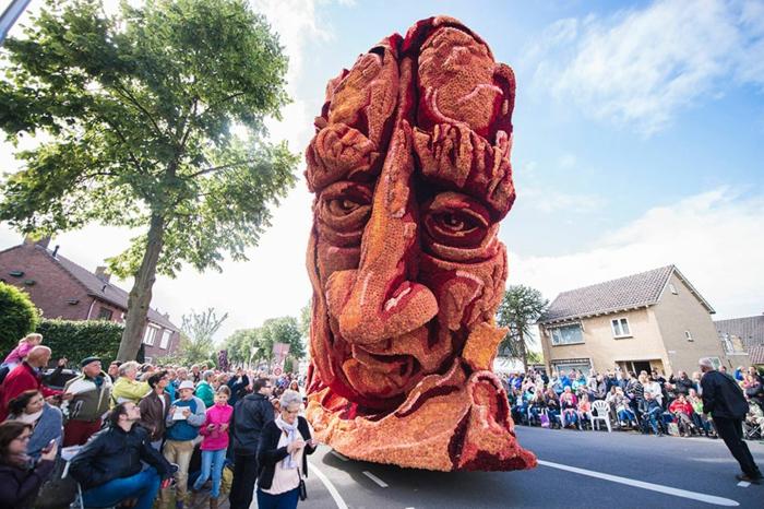 garten skulpturen blumenfestival Bloemencorso Zundert