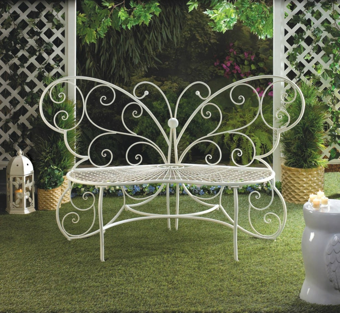 Gartenbank Metall - Jeder Garten braucht eine schöne Bank