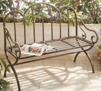 Gartenbank aus Metall – Jeder Garten braucht eine schöne Bank