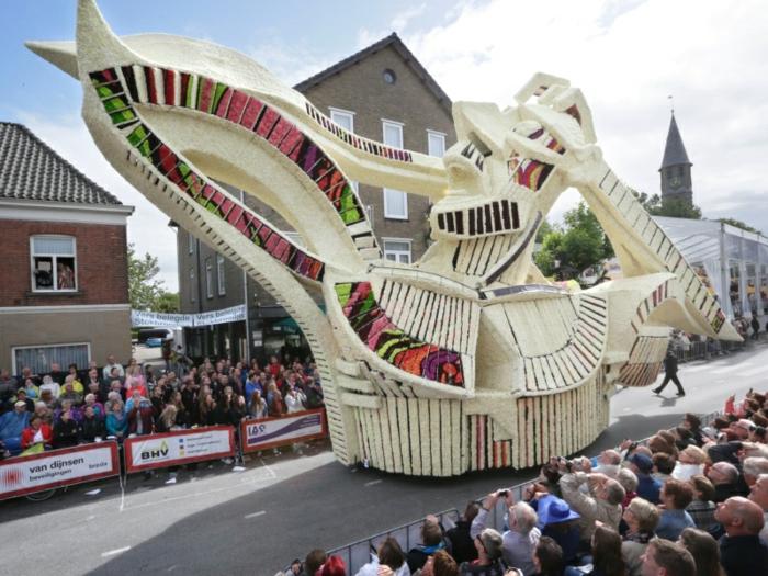 gartenskulpturen blumen blumenparade Bloemencorso Zundert